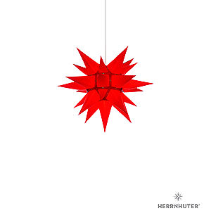 Adventssterne und Weihnachtssterne Herrnhuter Stern I4 Herrnhuter Stern I4 rot Papier - 40cm