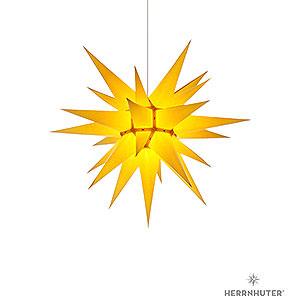 Adventssterne und Weihnachtssterne Herrnhuter Stern I6 Herrnhuter Stern I6 gelb Papier - 60cm