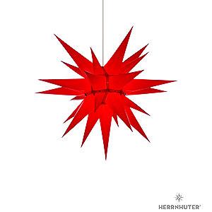 Adventssterne und Weihnachtssterne Herrnhuter Stern I6 Herrnhuter Stern I6 rot Papier - 60cm