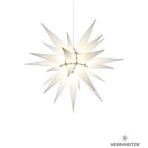 Adventssterne und Weihnachtssterne Herrnhuter Stern I6 Herrnhuter Stern I6 weiss Papier - 60 cm