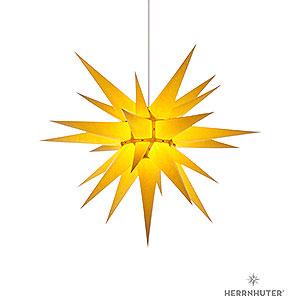 Adventssterne und Weihnachtssterne Herrnhuter Stern I7 Herrnhuter Stern I7 gelb Papier - 70cm
