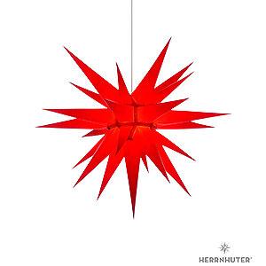 Adventssterne und Weihnachtssterne Herrnhuter Stern I7 Herrnhuter Stern I7 rot Papier - 70cm