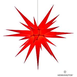Adventssterne und Weihnachtssterne Herrnhuter Stern I8 Herrnhuter Stern I8 rot Papier - 80cm