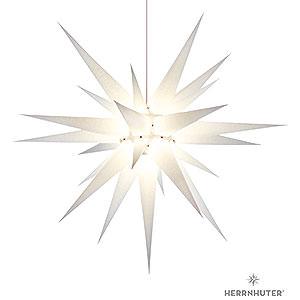 Adventssterne und Weihnachtssterne Herrnhuter Stern I8 Herrnhuter Stern I8 wei� Papier - 80cm