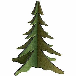 NEUHEITEN Holz-Steckbaum gr�n - 13 cm