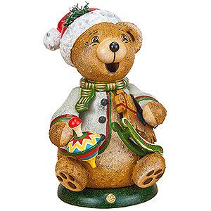 Kleine Figuren & Miniaturen Tiere Bären Hubiduu Wichtel Teddys Schaukelpferd - 14cm