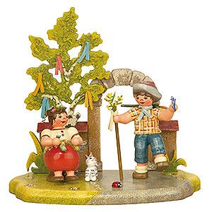 Kleine Figuren & Miniaturen Hubrig Vier Jahreszeiten Jahreszeit - Frühling - 13x12cm