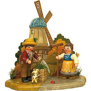 Kleine Figuren & Miniaturen Hubrig Vier Jahreszeiten Jahreszeit - Herbst - 13x12 cm