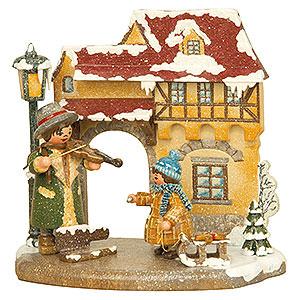 Kleine Figuren & Miniaturen Hubrig Vier Jahreszeiten Jahreszeit - Winter - 13x12cm