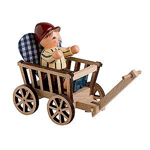 Kleine Figuren & Miniaturen alles Andere Junge mit Handwagen - 5 cm