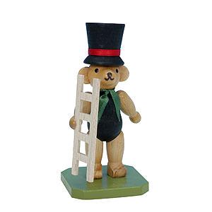 Kleine Figuren & Miniaturen Tiere Bären Kaminfeger Bär - 8,0 cm