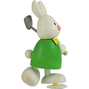 Kleine Figuren & Miniaturen Max & Emma (Hobler) Kaninchen Max beim Golf - Abschlag - 9cm