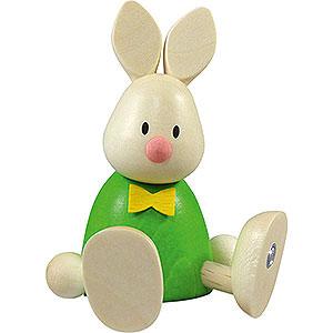 Kleine Figuren & Miniaturen Max & Emma (Hobler) Kaninchen Max sitzend - 9 cm