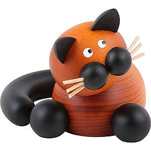 Kleine Figuren & Miniaturen Tiere Katzen Katze Bommel Schmusekatze - 5,5cm