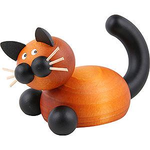 Kleine Figuren & Miniaturen Tiere Katzen Katze Bommel auf der Lauer - 5,5cm