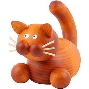 Kleine Figuren & Miniaturen Tiere Katzen Katze Charlie auf der Lauer - 5,5cm