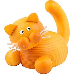 Kleine Figuren & Miniaturen Tiere Katzen Katze Emmi auf der Lauer - 5,5cm