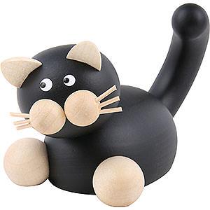 Kleine Figuren & Miniaturen Tiere Katzen Katze Hilde auf der Lauer - 5,5cm