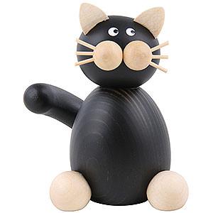 Kleine Figuren & Miniaturen Tiere Katzen Katze Hilde sitzend - 7cm