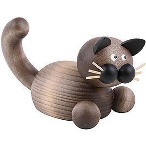 Kleine Figuren & Miniaturen Tiere Katzen Katze Karli auf der Lauer - 5,5cm