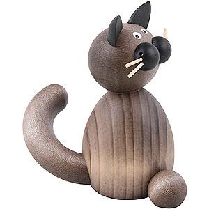 Kleine Figuren & Miniaturen Tiere Katzen Katze Karli sitzend - 7cm