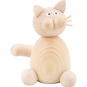 Kleine Figuren & Miniaturen Tiere Katzen Katze Moritz sitzend - 7cm