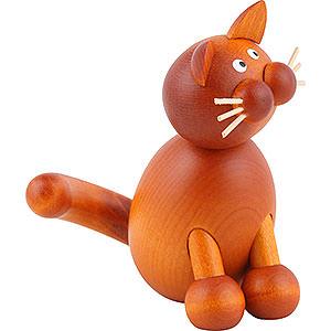 Kleine Figuren & Miniaturen Tiere Katzen Katze Onkel Charlie - 8,5 cm