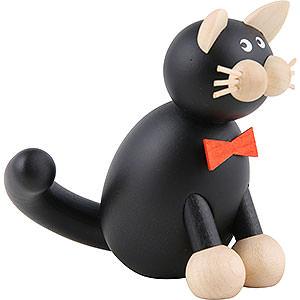 Kleine Figuren & Miniaturen Tiere Katzen Katze Onkel Kurt - 8,5cm