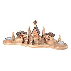 Lichterwelt Kerzenhalter Sonstige Kerzenhalter Alpendorf - 16 cm
