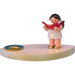 Lichterwelt Kerzenhalter Engel Kerzenhalter Engel mit Buch - 7 cm