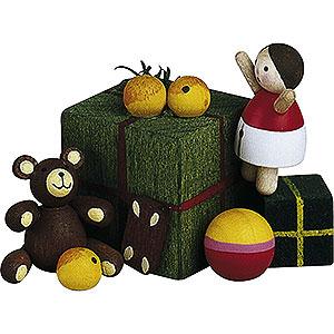 Weihnachtsengel Günter Reichel Dekoration Kleinkram - 2,5cm