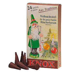 Smokers Incense Cones Knox Incense Cones - Christmas