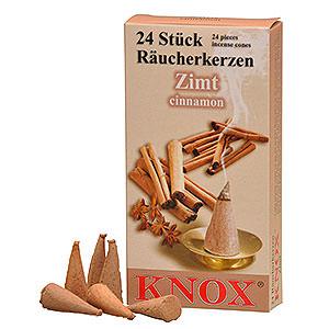 Smokers Incense Cones Knox Incense Cones - Cinnamon