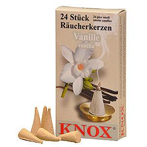 Smokers Incense Cones Knox Incense Cones -  Vanilla