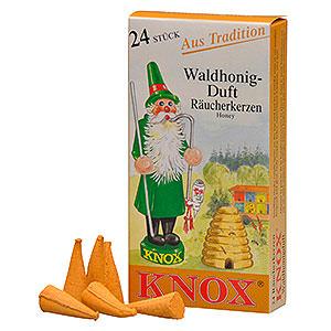 Smokers Incense Cones etc. Knox Incense cones - Honey