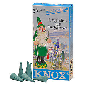 Smokers Incense Cones etc. Knox Incense cones - Lavender