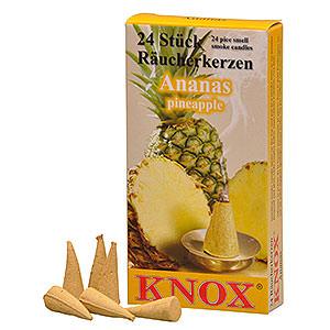 Räuchermänner Räucherkerzen Knox Räucherkerzen - Ananas