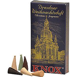 Räuchermänner Räucherkerzen Knox Räucherkerzen - Dresdner Weihnachtsmischung