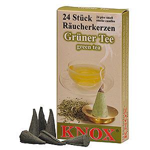 Räuchermänner Räucherkerzen Knox Räucherkerzen - Grüner Tee
