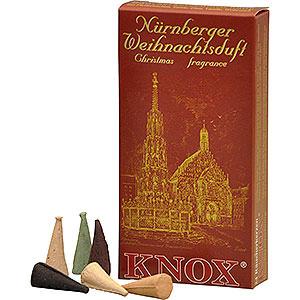 Räuchermänner Räucherkerzen & Zubehör Knox Räucherkerzen - Nürnberger Weihnachtsmischung