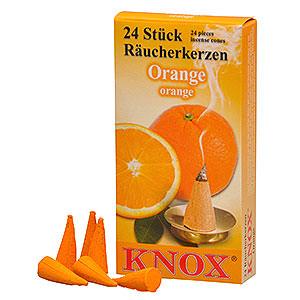 Räuchermänner Räucherkerzen & Zubehör Knox Räucherkerzen - Orangenduft
