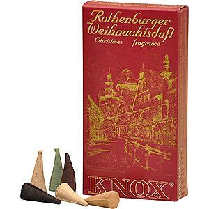 Räuchermänner Räucherkerzen & Zubehör Knox Räucherkerzen - Rothenburger Weihnachtsmischung