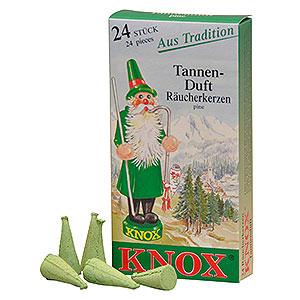 Räuchermänner Räucherkerzen & Zubehör Knox Räucherkerzen - Tannenduft
