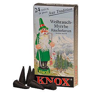 Räuchermänner Räucherkerzen & Zubehör Knox Räucherkerzen - Weihrauch
