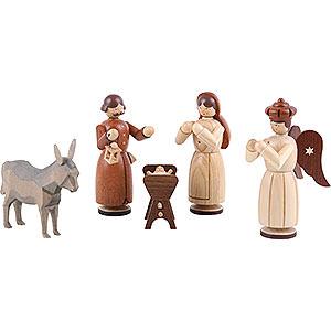 Kleine Figuren & Miniaturen Krippenfiguren (Müller) Krippenfiguren - Heilige Familie - 13 cm