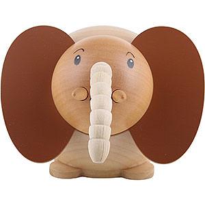Kleine Figuren & Miniaturen Tiere Elefanten Kugelfigur Elefant - 6cm