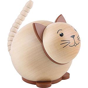 Kleine Figuren & Miniaturen Tiere Katzen Kugelfigur Katze - 6cm