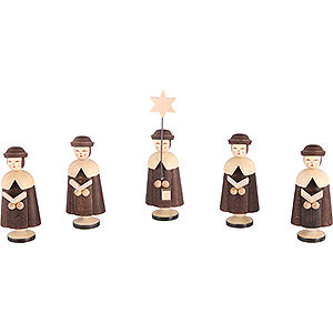 Kleine Figuren & Miniaturen Kurrenden Kurrende 5 Figuren - 6,5 cm