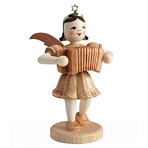 Weihnachtsengel Kurzrockengel (Blank) Kurzrockengel Ziehharmonika, natur - 6,6cm