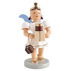 Weihnachtsengel Kurzrockengel farbig (Blank) Kurzrockengel farbig Geschenke - 6,6 cm